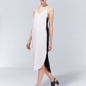 SHORT Aritzia Wilfred Rose Crepe Dress